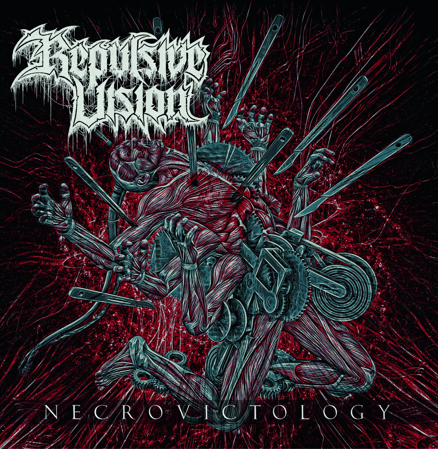 Repulsive Vision Necrovictology cover artwork